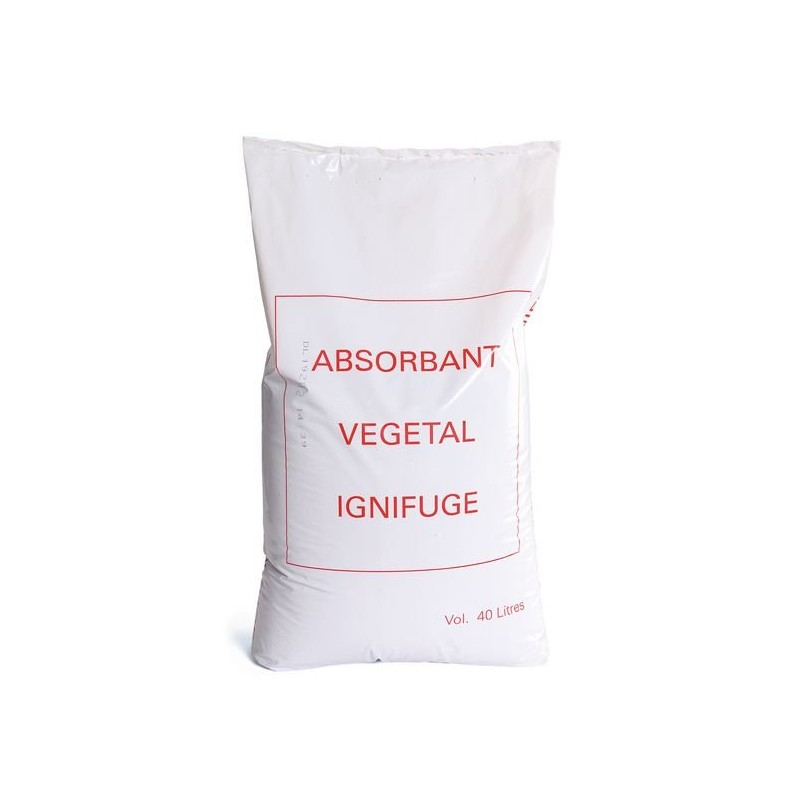 absorbente vegetal ignífugo