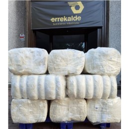 Suministro Errekalde. Balas de algodón (25kg)
